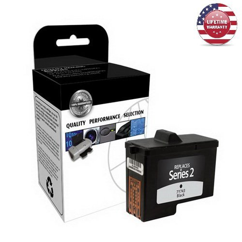 1 Pack X Compatible Dell & Lexmark 7Y743, 310-3540 Ink - Black - 600 Yield - By Nexiron