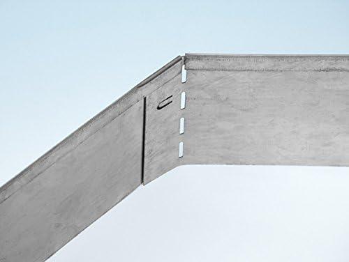bellissa /%/% 5er Set Rasenkante M/ähkante Metall 118 x 13 cm Beeteinfassung Wegbegrenzung von Dekowelt/%/%