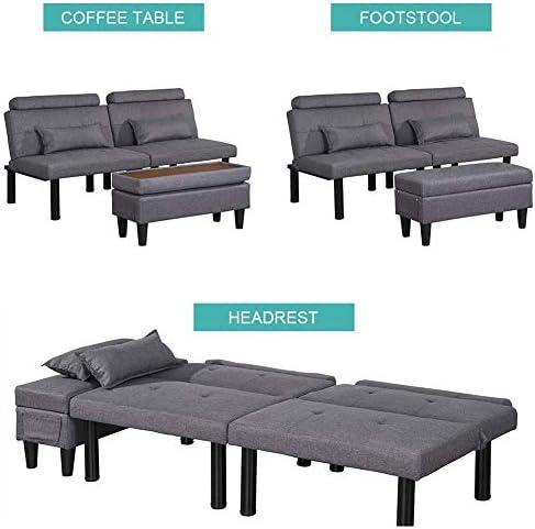 BINGTOO Futon Sofa Bed Couch and Sleeper