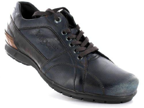 bugatti Herren Halbschuhe Blau, Schuhgröße:EUR 46