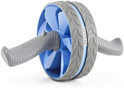 Kettler AB Wheel Tronco Trainer, Paloma Azul/Gris, l Rueda Abdominal, Adultos Unisex, Taubenblau/Grau, Talla Única