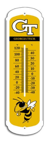 Cheap NCAA Georgia Tech Yellow Jackets 27-inch Outdoor Thermometer