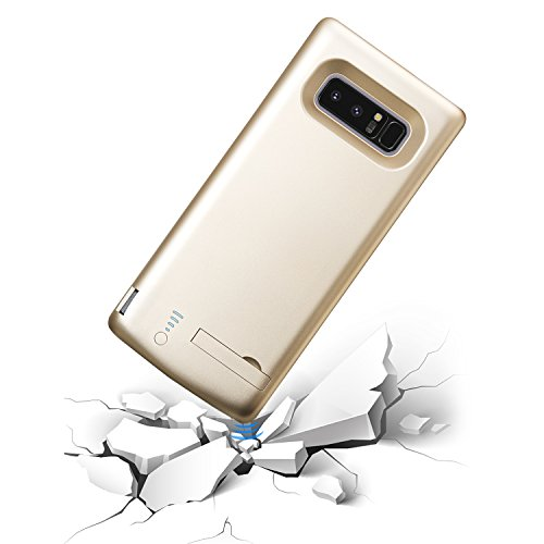Galaxy Note 8 Battery CasePEYOU 6500mAh huge Capacity No Extra Chin TPU Frame Protective Charging claim Extended Backup Charger electric power Bank Cover For Samsung Galaxy Note 8 63 having Extra USB result Port For Charging Any severa Device together lifetime Replacement warranties Battery Charger Cases