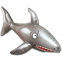 "24"" Inflatable Shark Decoration"