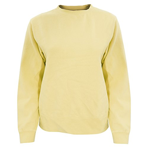(Comfort Colors Womens/Ladies Crew Neck Sweatshirt (L) (Butter))