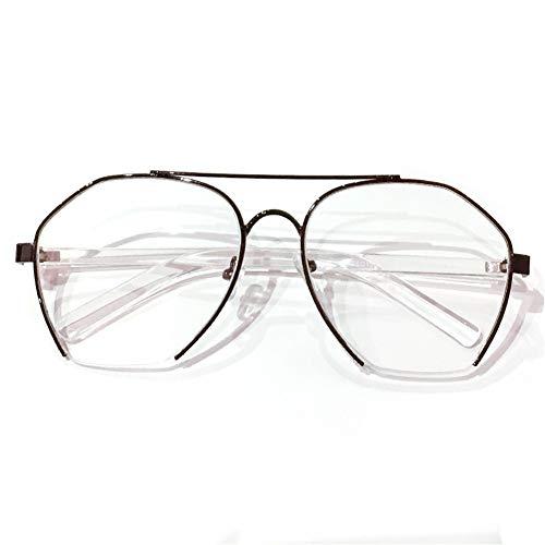 de cadre NIFG lunettes mode personnalité Lunettes transparent grand de rétro qw00XTIr
