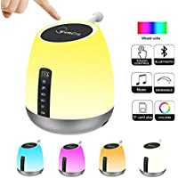 WamGra DY50 Bluetooth Speaker with RGB Color Changing LED Lamp Lights