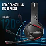 BINNUNE Wireless Gaming Headset with Microphone for