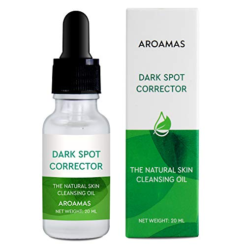 Aroamas, Dark Spot Corrector, Brightening Spotless Oil, lightens skin - For Face and Body - Even Skin tones - Anti-Aging - Jojoba Oil, Olive Oil, Rose Oil, Vitamin E