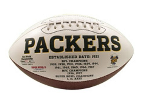 Green Bay Packers Signatures Series Football