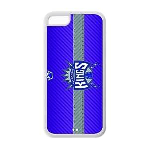 NBA Sacramento Kings Team Logo suit iPhone 5C TPU, Basketball Team Logo iPhone Cover