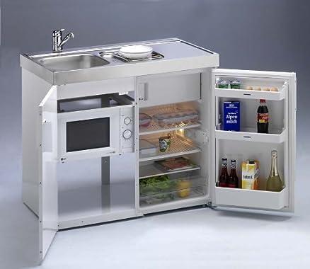 Single cucina compatto cucina mini-cucina con forno a microonde ...