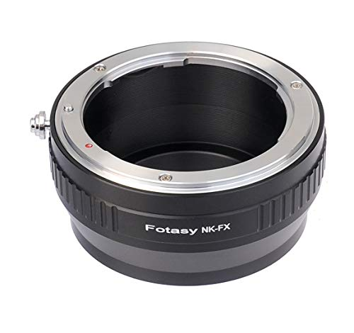 Fotasy Lens Mount Adapter - Nikon Lens to Fujifilm X-Series Mirrorless Camera ()