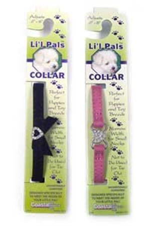 Coastal Pet Li039;l Pals Jewel Suede Collar Xxs 5/16