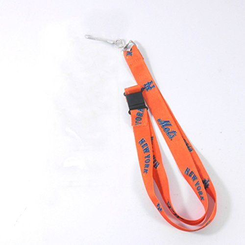 New York Mets Lanyard Keychain Id Ticket Clip (New Lanyard Mets York)