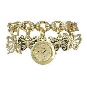 guess butterfly charm bracelet