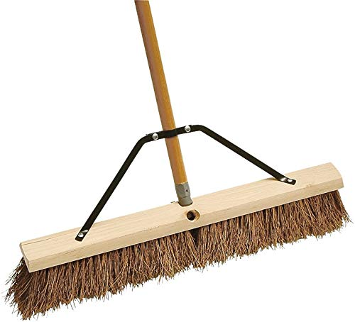 MintCraft Pro 278AOR Push Broom with Braced 24-Inch