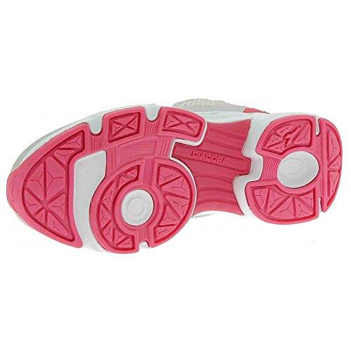 Diadora 101.171269, Zapatillas con Velcro Infantil gris