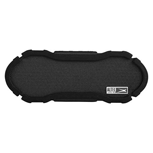 Altec Lansing IMW778-BLK Omni Ultra Jacket Bluetooth Waterproof Speaker, Black by Altec Lansing