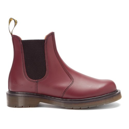 cuero unisex Dr 11853600 cherry Botas smooth de Martens red FwfxC6qa