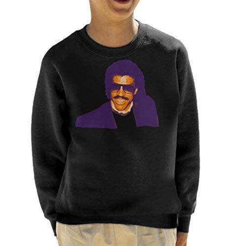 TV Times Pop Singer Lionel Richie 1985 Kid's Sweatshirt Black