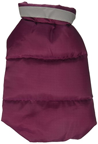 Vest Paw Puffy North - Casual Canine ZM3490 08 75 North Paw Puffy Vest, XX-Small, Deep Raspberry