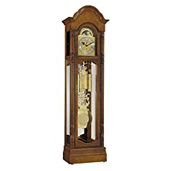Ridgeway Primrose Treasure Oak Floor Clock