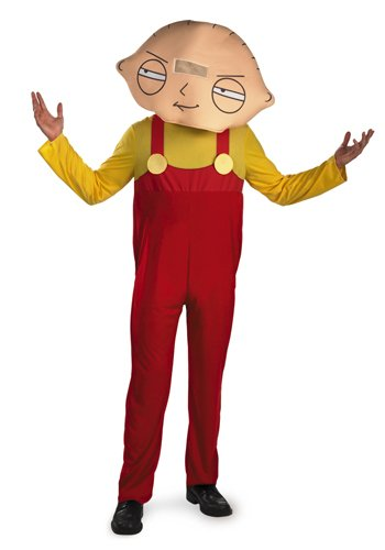[Disguise Men's Family Guy Stewie Costume, Yellow/Red, X-Large] (Stewie Family Guy Costume)
