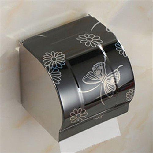 DIEERCARS Bathroom Paper Towel Waterproof Wall Mounted Paper Holder Bathroom Porta Papel Higienico Industrial Toilet Paper Holder (Zombie Toilet Paper Holder)