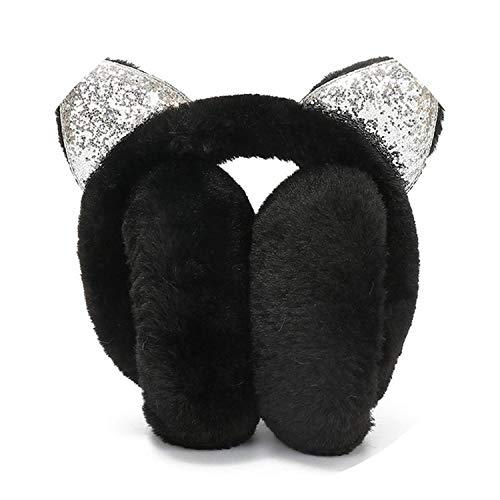 Cute Winter Ear Cover Women muffs Girls Plush Ear Muffs Earlap Warmer Headband ies,01