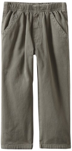 Charlie Rocket Little Boys' Pull On Twill Pant