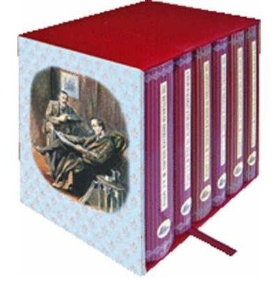 Set Hardback Boxed - Sherlock Holmes 6-Book Boxed Set (Collector's Library) (Hardback) By (author) Sir Arthur Conan Doyle