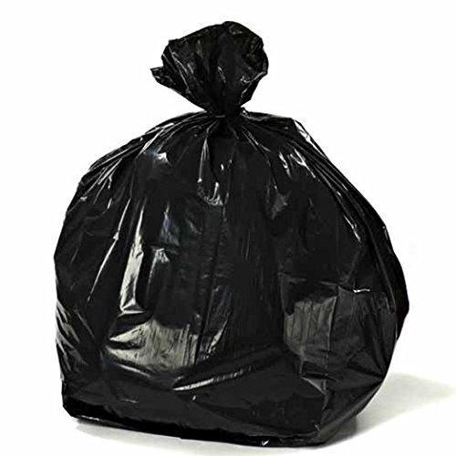 Toughbag Rubbermaid Compatible 44 Gallon Trash Bag 100 Garbage Bags (Black)