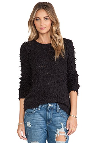 Free People Charcoal (Free People Women's September Song Sweater Charcoal Sweater)