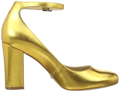 Buffalo Damen Zs 6454-16 Metallic Pumps Gold (GOLD 87)