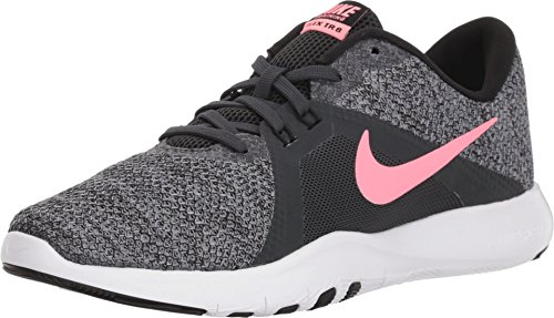 (Nike Women's Flex Trainer 8 Cross (5 M US, Anthracite/Sunset Pulse/Black) )