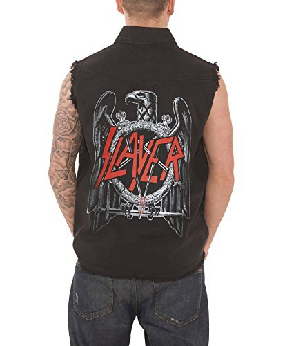 Slayer 'Black Eagle' Sleeveless Work Shirt - Clothes Eagle Work