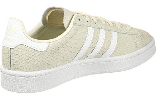 adidas Women's Campus W Fitness Shoes, Gris White (Blacre / Ftwbla / Dormet 000)