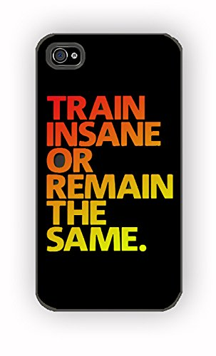 Gym Crossfit Train Insane Cool Fitness for iPhone 4/4S Case