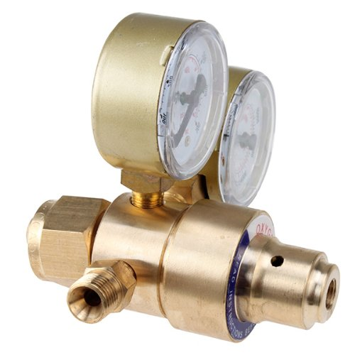 Welding Gas Welder Oxygen Regulator , AGPtEK Welding Gas Welders for Cutting Victor Torch Kits with CGA 540 Inlet