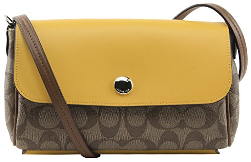 Coach Women's Reversible Crossbody In Signature Coated Canvas, Style F59534