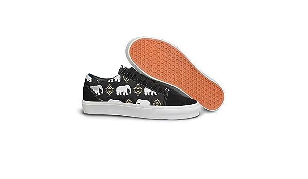 Elephant Pattern Tribal Aztec Triangles Women Casual Shoes Sneakers Skateboard Lo-Top Nursing Original