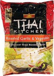 Thai Kitchen Instant Roasted Garlic and Vegetable Instant Rice Noodle Soup Roasted Garlic and Vegetable -- 1.6 oz