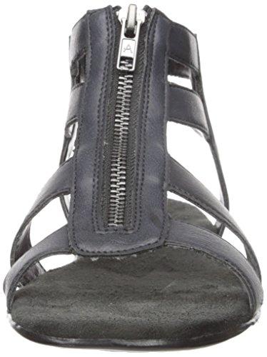 Aerosoles encychlopedia gladiador sandalias de la mujer Negro