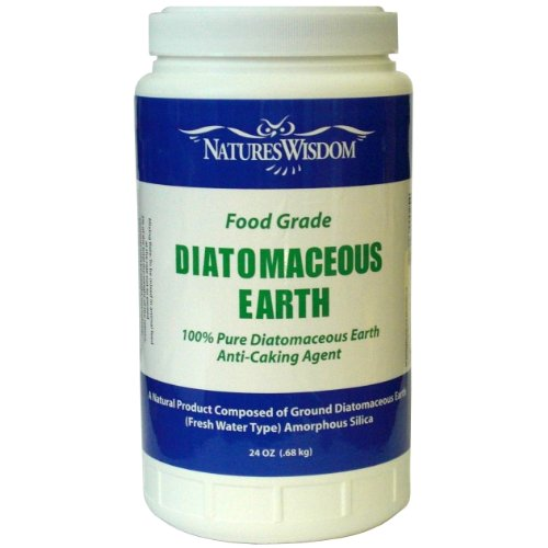 Nature's Wisdom Food Grade Diatomaceous Earth 24 Oz. Pour Top