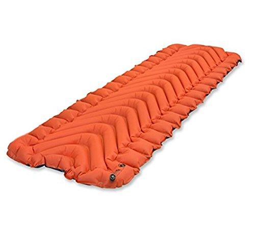Klymit Insulated Static V Sleeping Pad (orange / grey) bundle by Klymit (Image #2)