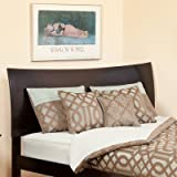 Atlantic Furniture Soho Twin Headboard in Espresso - Twin