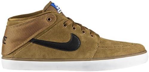 Nike SUKETO Mid Leather, Baskets pour Homme Marron Braun