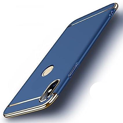 uk availability abb44 c77cf MOBICLONICS® Chrome 3IN1 Luxury Full Body Protective Back Cover for Vivo  V9/ Vivo V9 Youth-Blue