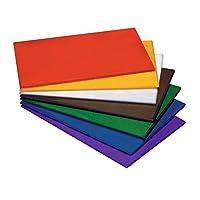 HACCP Planche à découper en coloré (couleur au choix) & Polyéthylène Haute Densité, non toxique, résistant à la chaleur jusqu'à + 90°C, messerschonend, hygiénique, avec ou sans pieds | erk